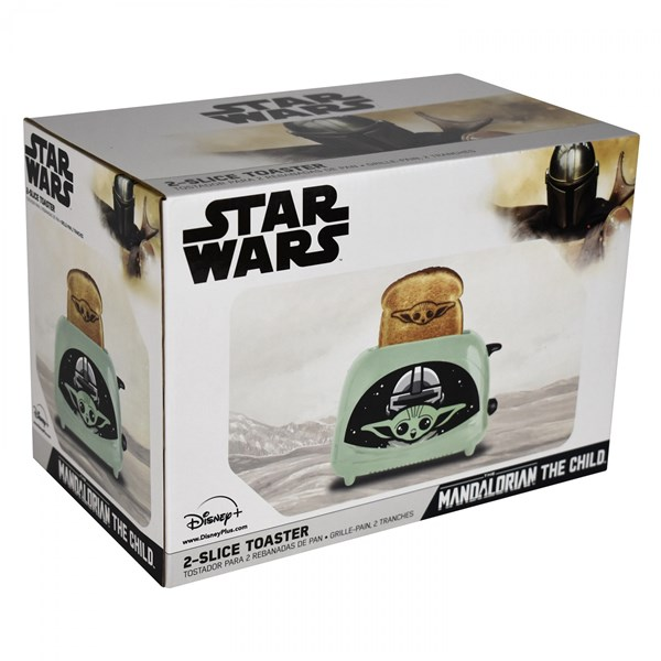Star Wars The Mandolorian The Child Empire Toaster