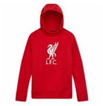 2020-2021 Liverpool Core Hoody (Red) - Kids