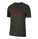 2020-2021 Portugal Nike Ground Tee (Sequoia)