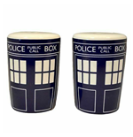 Doctor Who Home Accessories Tardis Salt And Pepper Shakers Set