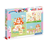 Hello Kitty Puzzles 406094