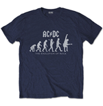 AC/DC Unisex Tee: Evolution of Rock