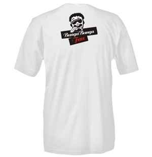 Bunga Bunga Fan White T-shirt - Red G-String