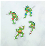 Teenage Mutant Ninja Turtles 4-Pack Magnet Set