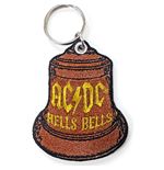 AC/DC Keychain: Hells Bells (Double Sided Patch)