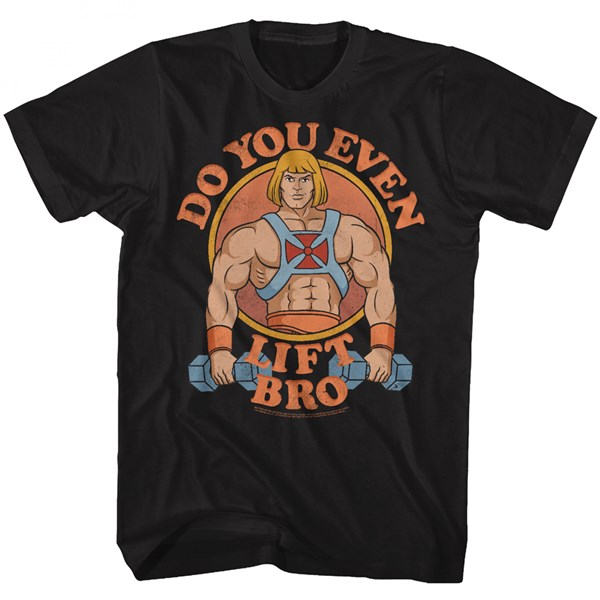 Masters of the Universe He-Man Do You Even Lift T-Shirt