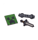 Minecraft Lapel Pins 3-Pack Set