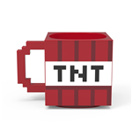 Minecraft Red TNT Block Ceramic Sculpted Mug