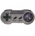Nintendo SNES Controller Shaped 17x 29 Doormat with Non-Skid Back