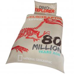 National Geographic Single Duvet Set Raptor