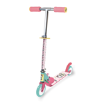 HELLO KITTY Club Children's Two-Wheel Inline Scooter, Girl, Ages Three Years and Above, Pink/White