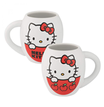 Hello Kitty I Love Apples 8oz Ceramic Mug
