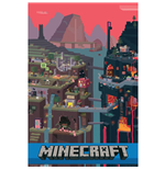 Minecraft Poster World 85