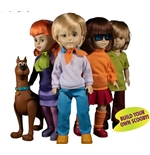 Ldd Pres Scooby DOO&MISTERY Inc Set (4) Action Figure