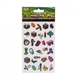 Minecraft Character and Symbols Sticker Sheet 4-Pack