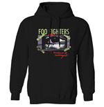 Foo Fighters Unisex Pullover Hoodie: Medicine At Midnight Taped
