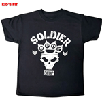 Five Finger Death Punch Kids Tee: Soldier