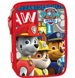 Paw Patrol pencil case double filled