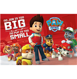 Paw Patrol Poster No Pup Is Too Small 73