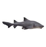 ANIMAL PLANET Sealife Bull Shark Large Toy Figure, Three Years and Above, Grey