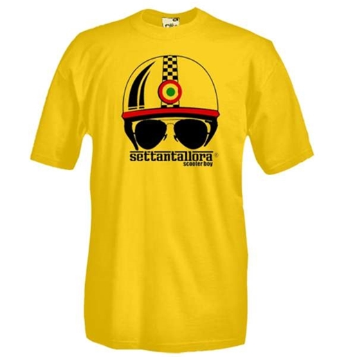 Casco Scooter Boy Settantallora T-shirt
