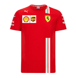 2021 Ferrari Team Tee (Red) - Kids