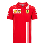 2021 Ferrari Team Polo Shirt (Red) - Kids