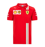 2021 Ferrari Team Polo Shirt (Red)