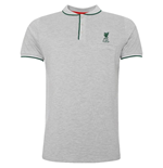 Liverpool FC Birdseye Polo Mens Grey M