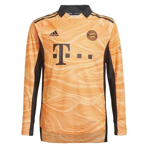 2021-2022 Bayern Munich Home Goalkeeper Shirt (Orange) - Kids