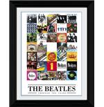 "The Beatles Through The Years Framed 16x12"" Photographic Print"