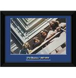The Beatles Blue Album Framed Photographic Print 8x6""