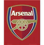 Arsenal Crest Mini Poster