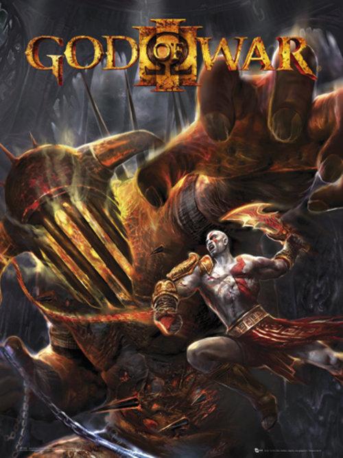God Of War 3 Hades Mini Poster