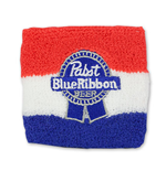 Pabst Blue Ribbon PBR Terry Stripes Wrist Band