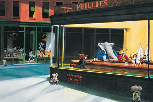 Edward Hopper's Nighthawks Maxi Poster for only $ 5.84 at ...