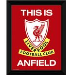 "Liverpool This Is Anfield Framed 16x12"" Photographic Print"