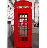 London Telephone Box Maxi Poster