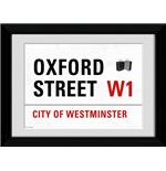 "London Oxford Street Framed 16x12"" Photographic Print"