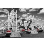 London Bridge Buses Maxi Poster