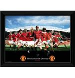 Manchester United Legends Framed Photographic Print
