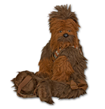 STAR WARS Chewbacca Plush Novelty Bag Backpack Buddy