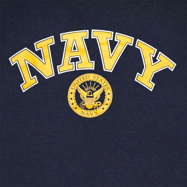 Us Navy Seals Gold Logo Patriotic American T Shirt For