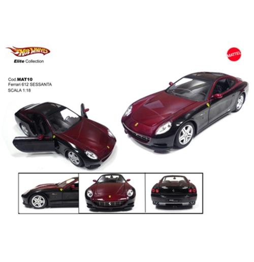 Toy car model Ferrari 612 Sessanta Elite