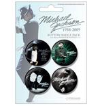 Michael Jackson-Blue-Badge Packs