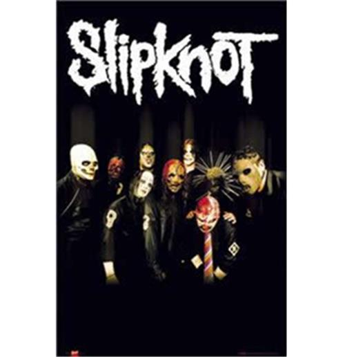 Slipknot-Dark Masks-Poster