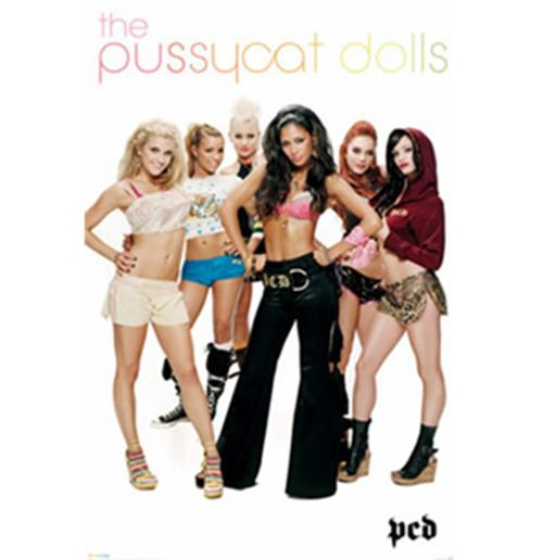 The Pussy Cat Dolls-Group-Poster