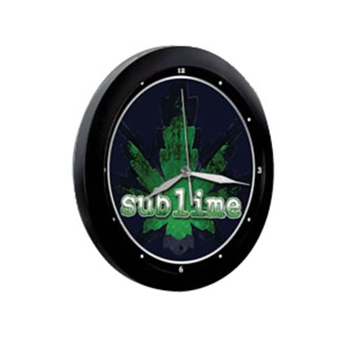 Sublime-Logo-Wall Clock