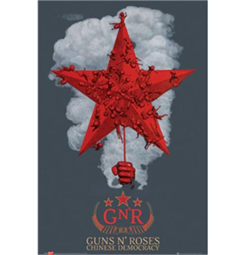 Guns 'N' Roses-Chineses Democracy-Poster