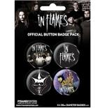 In Flames-Badge Pack